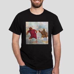 Roosevelt Bears on the Beach Dark T-Shirt