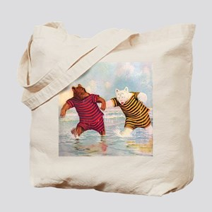 Roosevelt Bears on the Beach Tote Bag