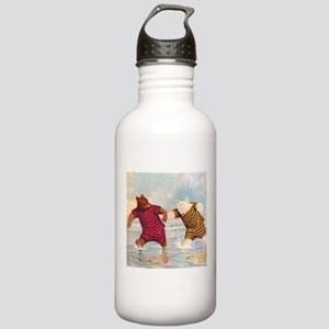 Roosevelt Bears on the Beach Stainless Water Bottl