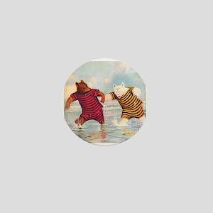 Roosevelt Bears on the Beach Mini Button