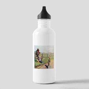 Roosevelt Bears Go Fishing Stainless Water Bottle