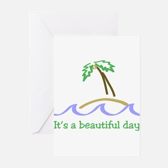 It's a Beautiful Day - Island Greeting Cards (Pk o