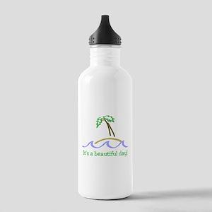 It's a Beautiful Day - Island Stainless Water Bott