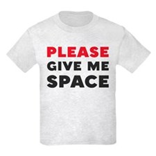 Please Give Me Space Kids Light T-Shirt