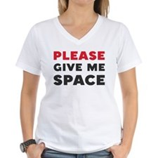 Please Give Me Space Women's V-Neck T-Shirt