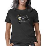 leftloopbee_CPDark Women's Classic T-Shirt