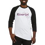 Gamer Girl -Gun & Swirls Baseball Jersey