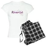 Gamer Girl -Gun & Swirls Women's Light Pajamas