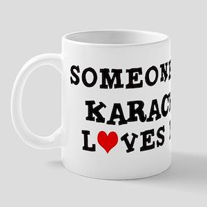 Someone in Karachi Mug