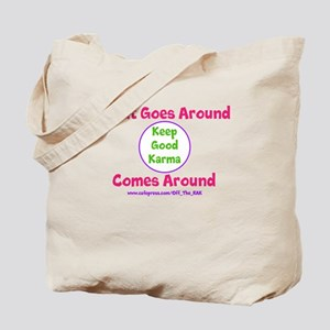 Keep Good Karma Tote Bag