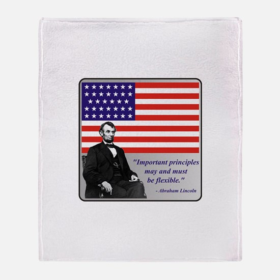 Lincoln Throw Blanket