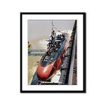 USS GURNARD Framed Panel Print