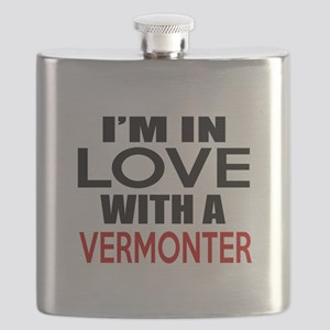 I Am In Love With Vermonter Flask