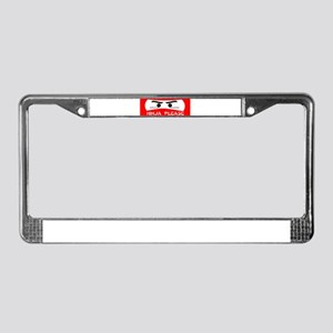 NINJA PLEASE SHIRT NINJA GEAR License Plate Frame