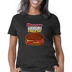BaconDoubleCheese-2012-cp Women's Classic T-Shirt
