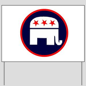 REPUBLICAN ELEPHANT ELELCTION Yard Sign