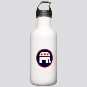 REPUBLICAN ELEPHANT ELELCTION Stainless Water Bott