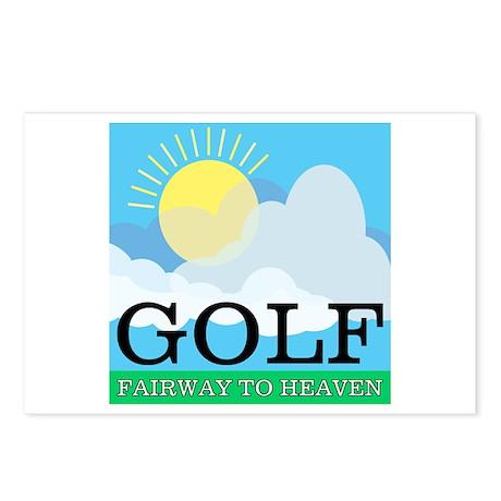 Golf Fairway to Heaven Postcards (Package of 8)