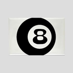 8 BALL 8 BALL SHIRT EIGHT BAL Rectangle Magnet