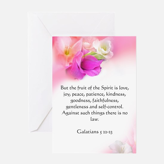 Biblical Scripture Greeting Card