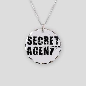 SECRET AGENT SHIRT TEE KIDS S Necklace Circle Char