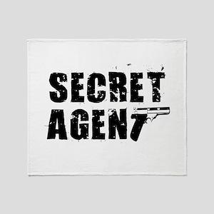 SECRET AGENT SHIRT TEE KIDS S Throw Blanket