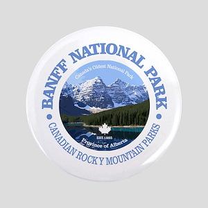 Banff National Park Button