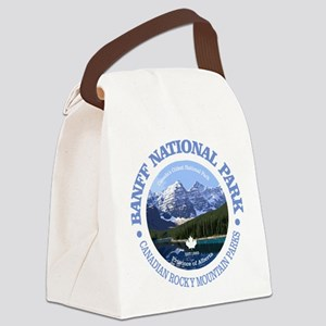 Banff National Park Canvas Lunch Bag