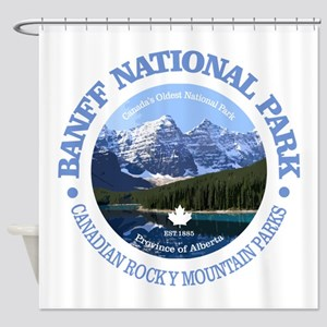 Banff National Park Shower Curtain
