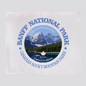 Banff National Park Throw Blanket