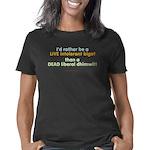 rather be live bigot Women's Classic T-Shirt