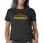 Global Warming Not 1 trsp Women's Classic T-Shirt