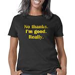 nothanks.10x10.b Women's Classic T-Shirt