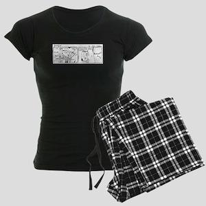 The Surrogate Mother Women's Dark Pajamas