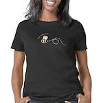 left1loopbee_CPDark Women's Classic T-Shirt