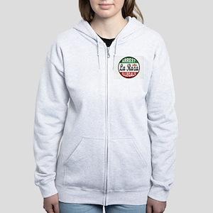 DEPORT ILLEGALS Women's Zip Hoodie
