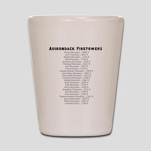 Adirondack Firetowers Shot Glass