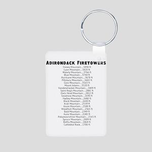 Adirondack Firetowers Aluminum Photo Keychain