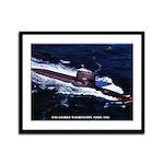 USS GEORGE WASHINGTON Framed Panel Print