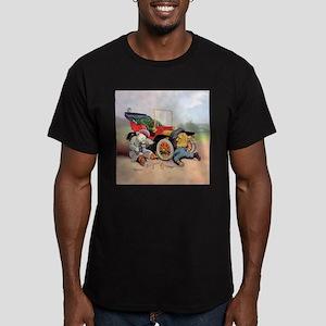 Roosevelt Bear Mechani Men's Fitted T-Shirt (dark)