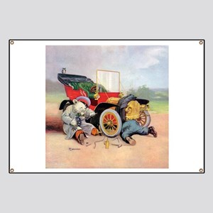 Roosevelt Bear Mechanic Banner