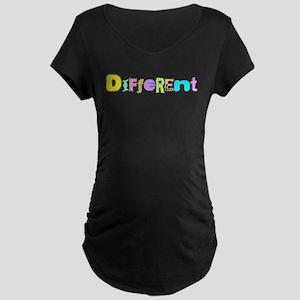 Different Maternity Dark T-Shirt