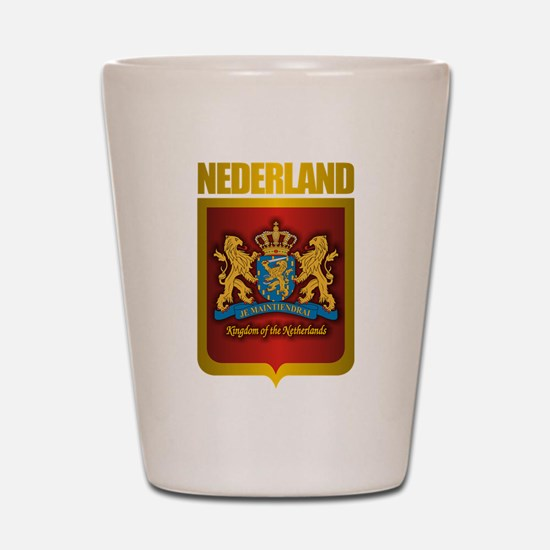 """Netherlands Gold"" Shot Glass"