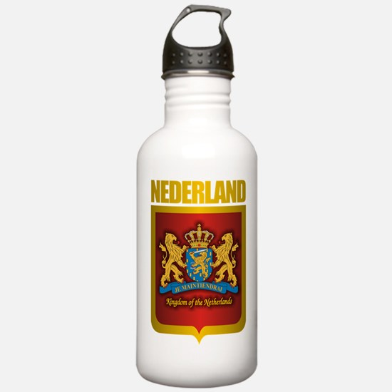 """Netherlands Gold"" Water Bottle"