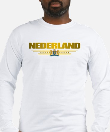 """Netherlands Gold"" Long Sleeve T-Shirt"