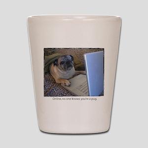 Online Pug Shot Glass
