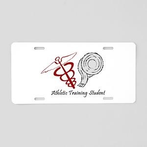 Athletic Training Student Aluminum License Plate
