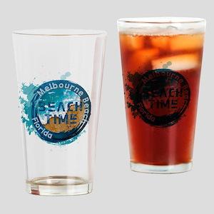 Florida - Melbourne Beach Drinking Glass