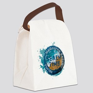 Florida - Melbourne Beach Canvas Lunch Bag