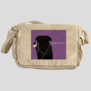 Pug Play Messenger Bag